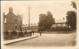 Corner of Bletchley Road and Victoria Road (Elms corner)