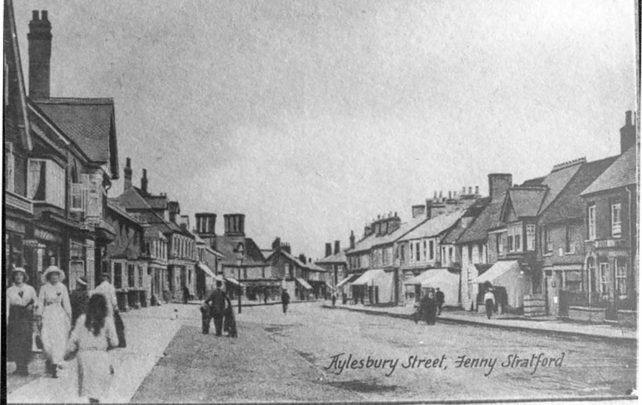 Aylesbury Street looking towards cross roads