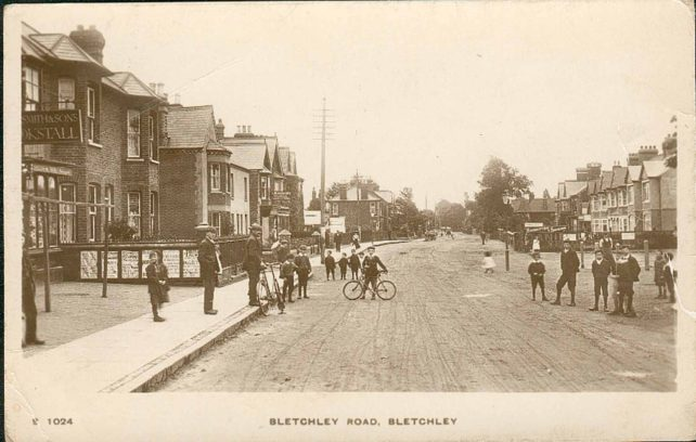 Bletchley Road looking towards Oliver Road