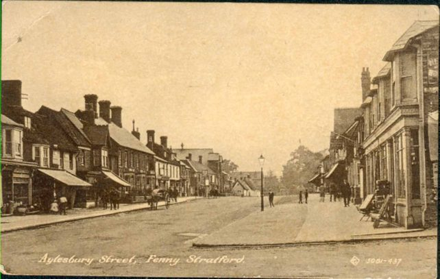 Aylesbury Street from the end of George Street