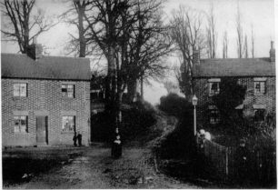 Buckingham Road looking up Maeger's Hill