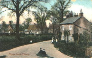 Water Eaton Village from end of Mill Road