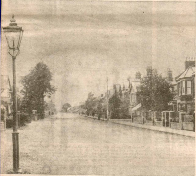 Part of Bletchley Road probably early 1900s