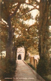 Entrance to St Mary's Church, Bletchley