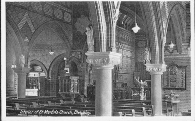 Interior of St. Martin's Church Fenny Stratford