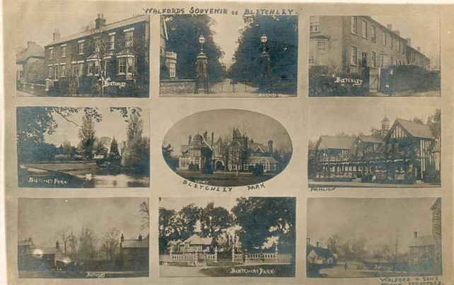 Walford's souvenir of Bletchley - 9 views