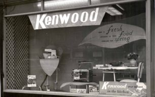 Holdom Shop Window - Kitchen Ware