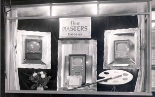 Holdoms Shop Window - Televisions 1952
