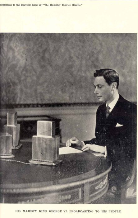 King George VI Broadcast