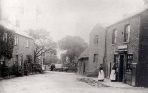 Newton Longville Post Office possibly 1890s