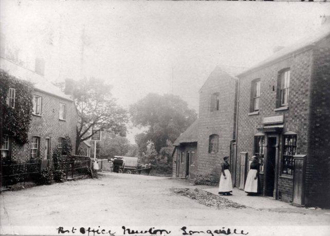 Newton Longville Post Office possibly 1890s