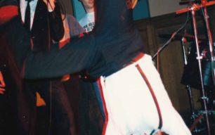 Cartwheel on stage