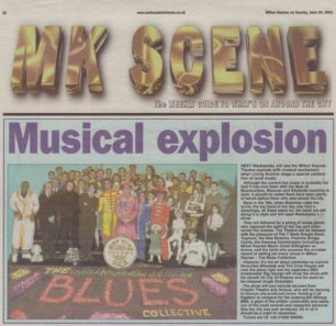 Musical Explosion [newspaper cutting]