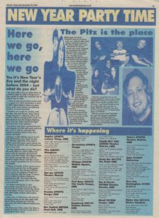 The Pitz is the place [newspaper cutting]