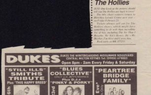 Blues Collective's only UK appearance [newspaper cutting]