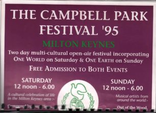 Campbell Park Festival '95 [booklet]