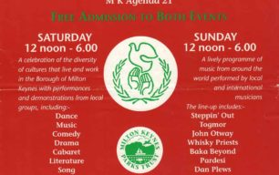 Campbell Park Global Festival '96 [poster]