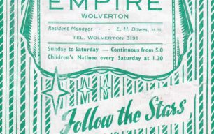 Programme-Empire Cinema, Wolverton 1955