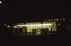 MKDC Conference Pavilion at night