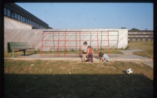 Play area under construction