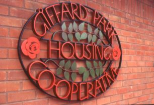 Sign for Giffard Park Housing Cooperative