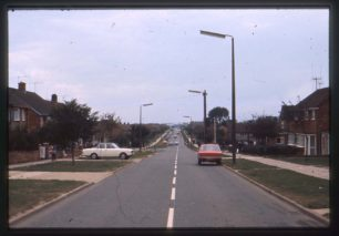 Whaddon Way, junction with Tattenhoe Lane