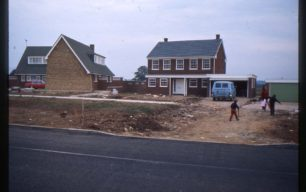 Wentworth Way, houses under construction