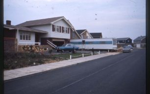 Wentworth Way, houses finished