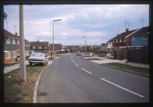 Whalley Drive, junction with Bushy Close