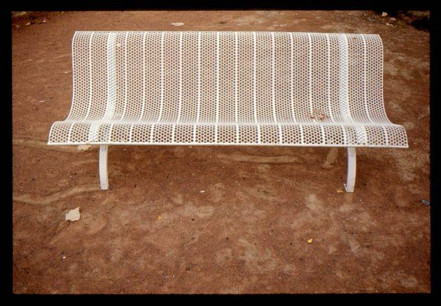 MK Park Bench prototype