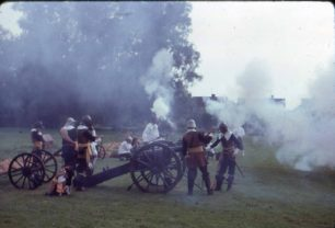 Cannons fired by The Sealed Knot