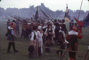 Sealed Knot demonstration
