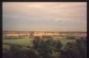 Willen looking East towards M1 junction 14
