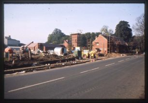 Building site of Newport Pagnell Fire Station