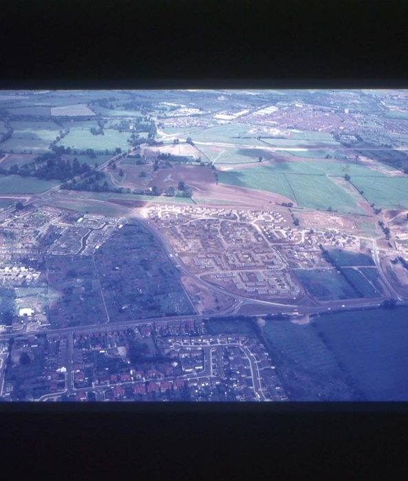 Aerial view of Stony Stratford South