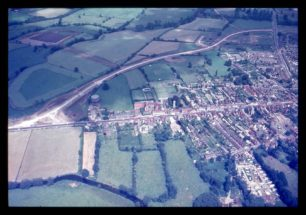 Aerial view of Stony Stratford North