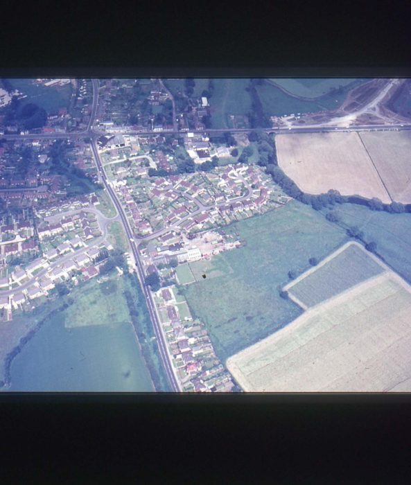 Aerial view of Old Stratford