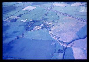 Aerial view of Willen