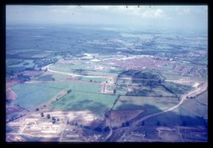 Aerial view of Fullers Slade and Wolverton