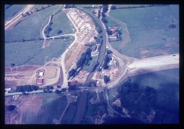 Aerial view of Simpson