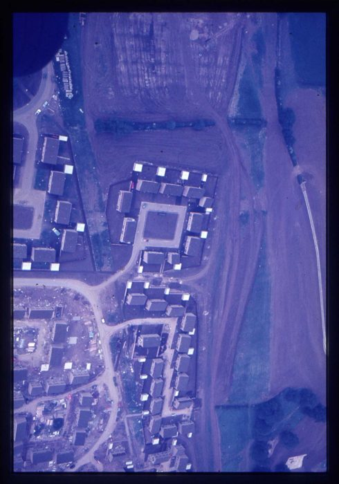Aerial view of Galley Hill