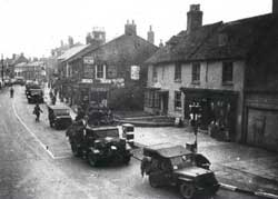 Aylesbury St, Army Vehicles