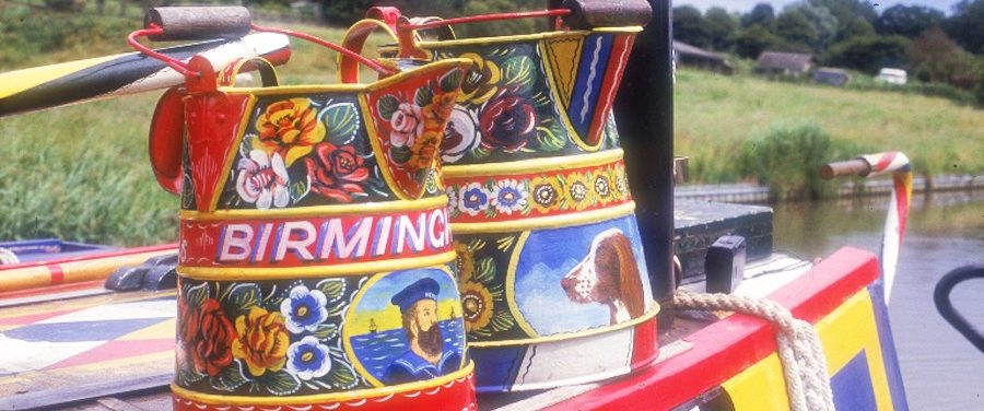 Children's Canal Boat Art Workshop 6 July