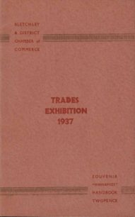 Two Bletchley Trades Exhibition 1937 pamphlets.