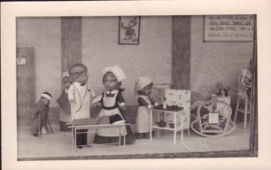 Photo of shop window display - Dolls' Hospital