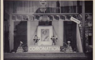 Photo of shop window display (Coronation)