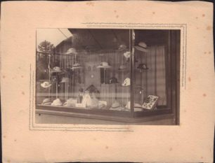 "Photo of Milliner's Shop Window ""Margery"""