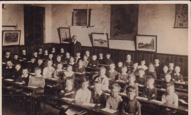 Bletchley classroom photograph