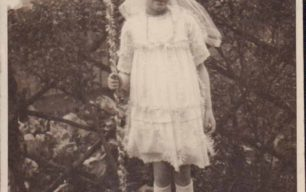 Photograph of 1926 May Queen Ivy Young