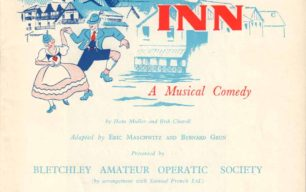 1958 Programme for White Horse Inn